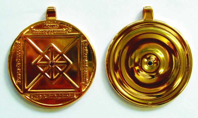 2012 Amulett Horus Energypyramid
