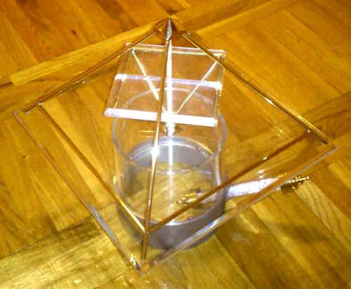 Energiepyramide A m Horusring u Powerstab
