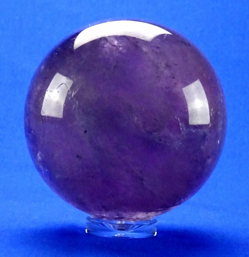 Acryldisc 3 cm Ständer f Kr A u Kugel Amethyst