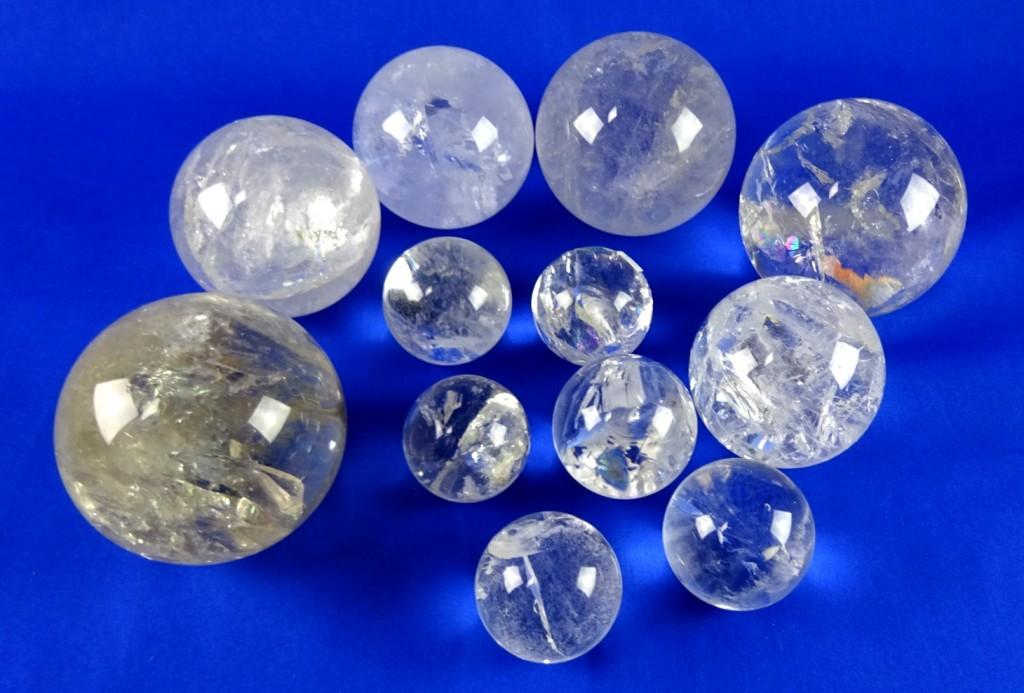 Bergkristallkugeln